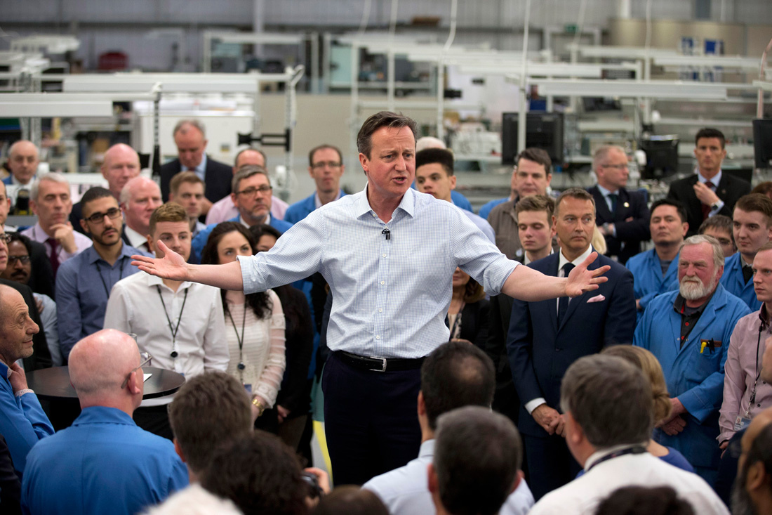Getty David Cameron British election