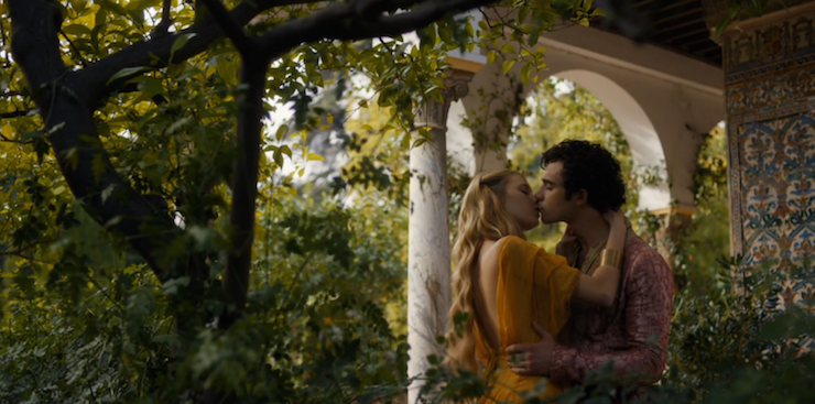 Myrcella and Trystane are enjoying their youth.