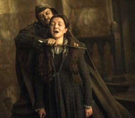 The show is known for its shocking brutality, seen here in the 'Red Wedding' episode. Photo: HBO