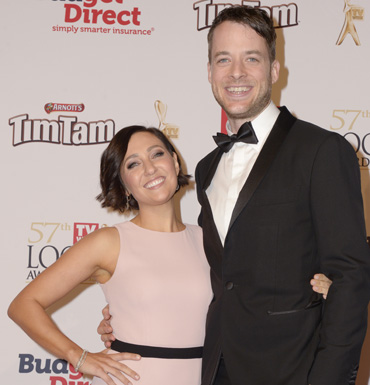 Hamish Blake and Zoe Foster.
