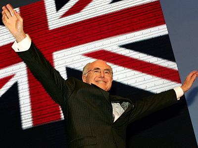 AUSTRALIA-VOTE-CAMPAIGN-PM HOWARD