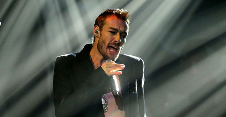 Daniel Johns was with his fashion blogger girlfriend when injured.