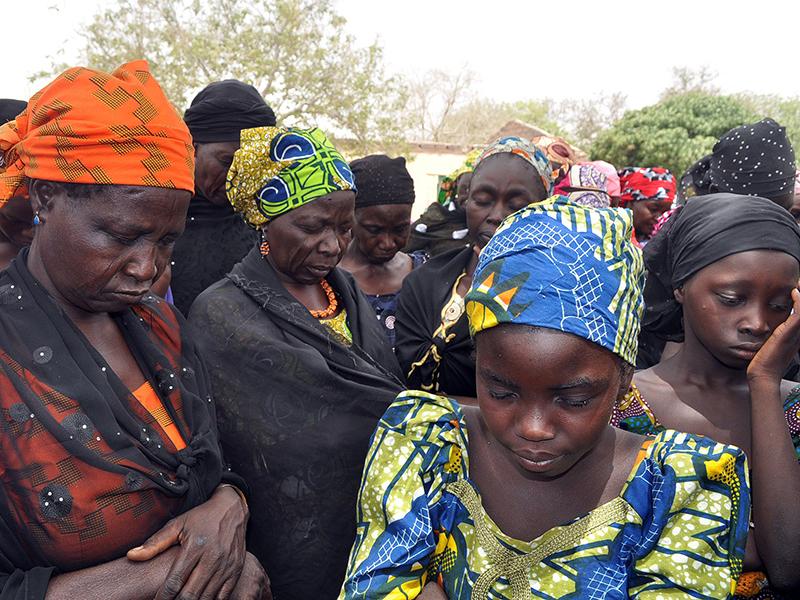 Parents of the kidnapped Chibok schoolgirls.