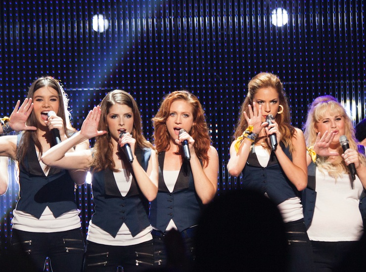 The Barden Bellas hit the stage.