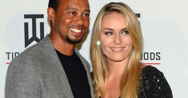 (Getty) Tiger Woods and Lindsey Von