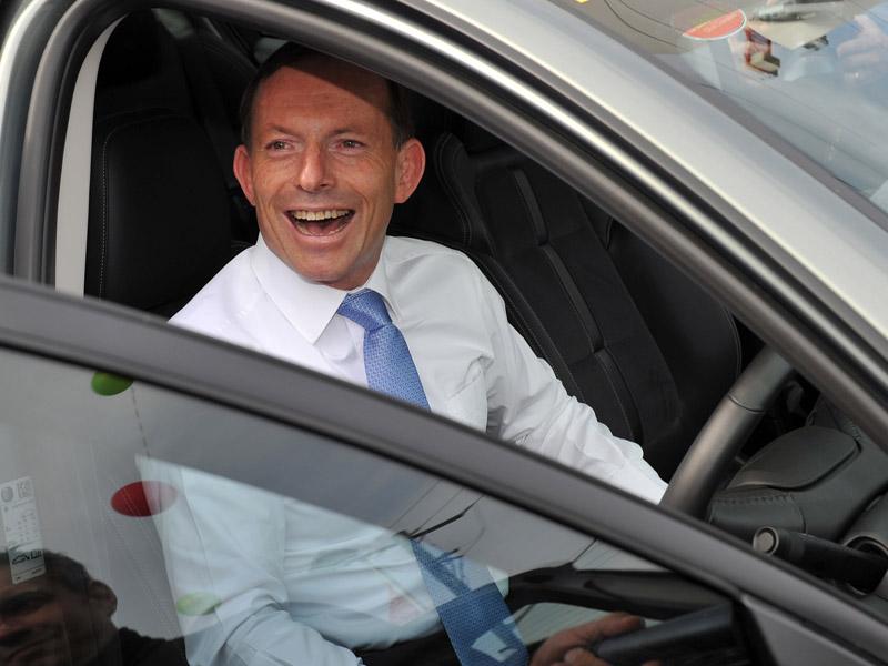 Tony Abbott car