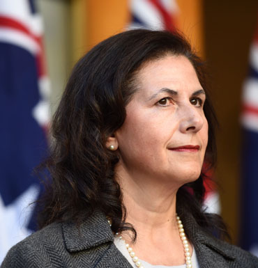 Senator Concetta Fierravanti-Wells will aid in the government's fight against terror.