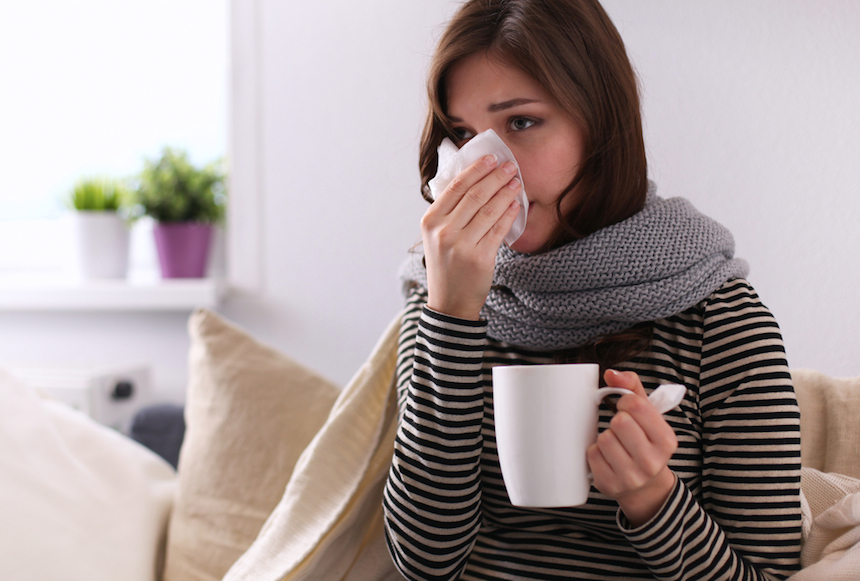 why do you get sick in winter?