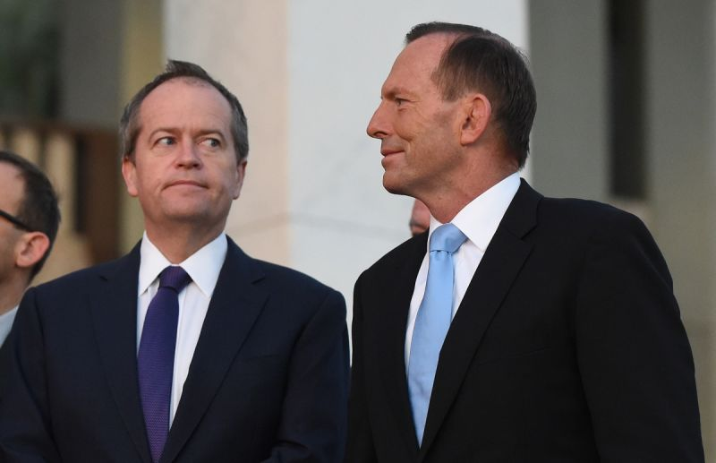 Mr Shorten lost ground on who would make a better PM.