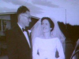 Joan Hood married Ron Kirner in 1960. Photo: ABC TV