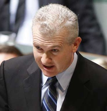 Tony Burke: timing was curious.