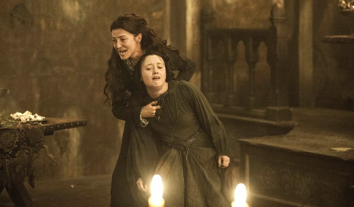 The Red Wedding scene in Game of Thrones was one of the most violent in television history.