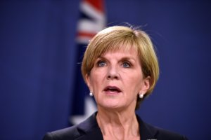 Ms Bishop says discussions should have been confidential.