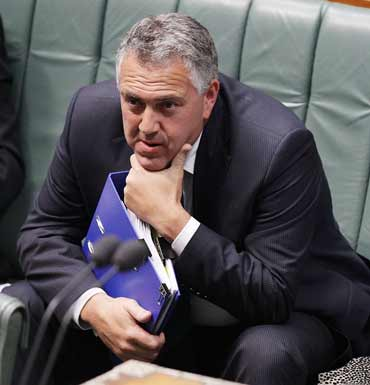 Treasurer Joe Hockey has been given something to think about since his comments on Tuesday Photo: AAP