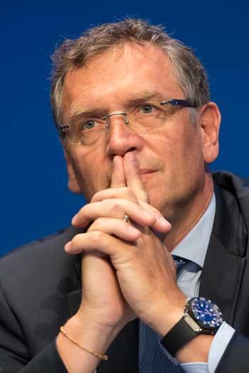 FIFA secretary general Jerome Valcke. Photo: Getty
