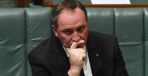Barnaby Joyce wants you to broaden your horizons. Photo: AAP