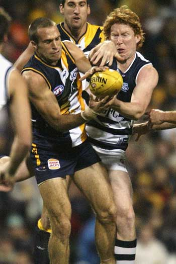 Judd and Cameron Ling were frequent combatants. Photo: Getty