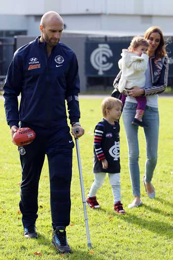 The Judd family after Tuesday's retirement announcement. Photo: Getty