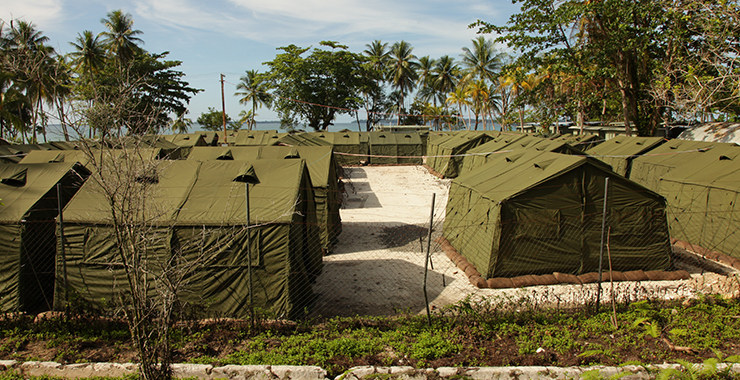 Despite appearances, Manus Island is proving very costly. Photo: Getty.