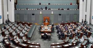 The majority of Coalition MPs chose not to listen to Bill Shorten's speech. Photo: AAP.