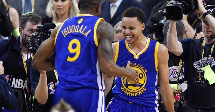 445505e842b Bogut benched as Warriors clinch NBA title