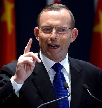 Prime Minster Tony Abbott.