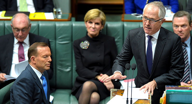 Tony Abbott and Malcolm Tunrbull