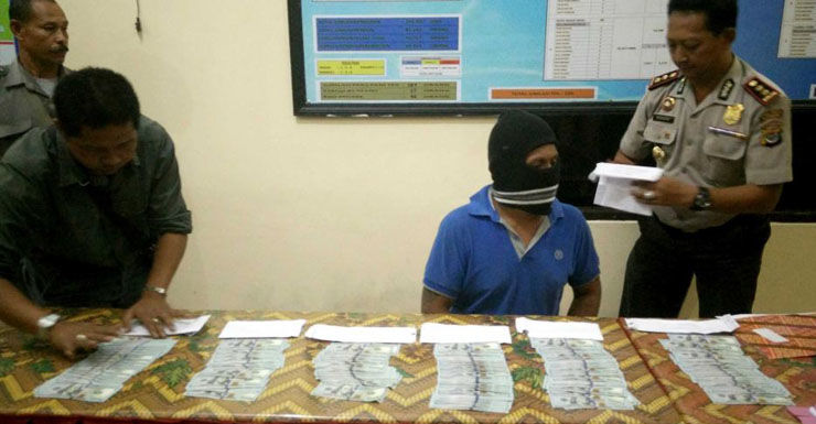 Indonesian police allege a total of $US31,000 was paid to people smugglers.