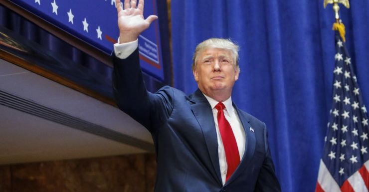 Donald Trump candidate