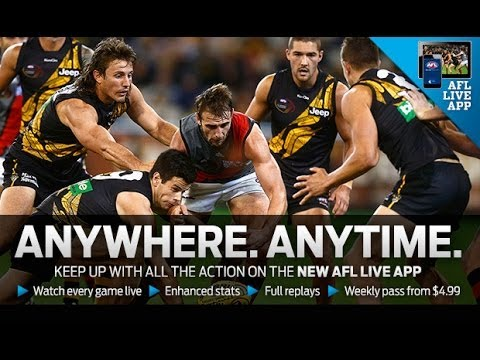 The AFL's digital rights are currently held by Telstra, but that could be about to change. Photo: AFL Live