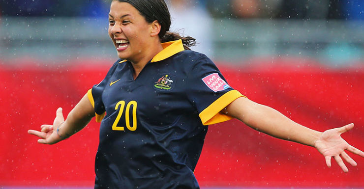 Getty Samantha Kerr Matildas