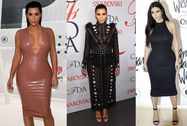 Kim Kardashian's early pregnancy style goes against the norm.