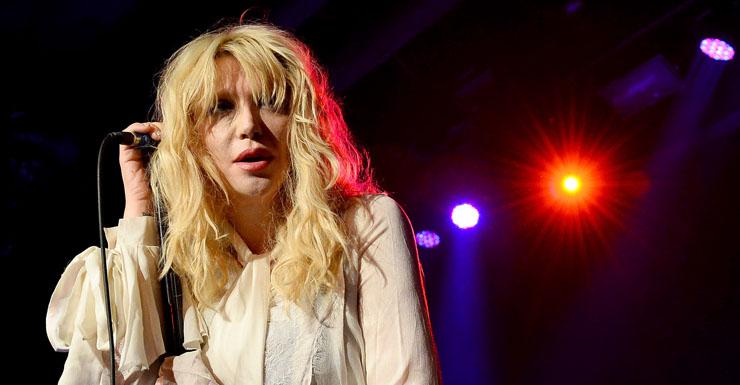 Courtney Loves says she was 'ambushed'.