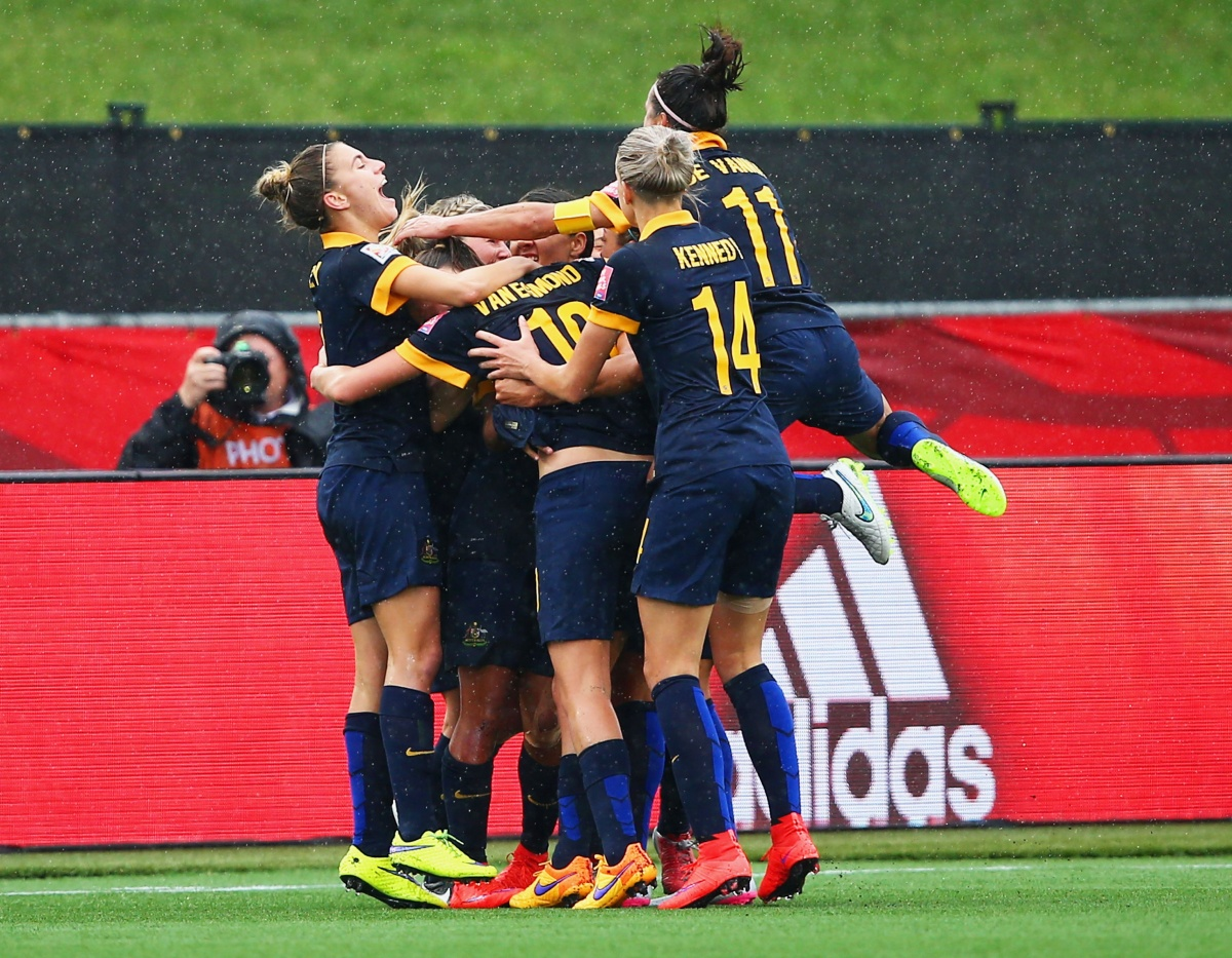 The Matildas push for more money is included in the negotiations. Photo: Getty