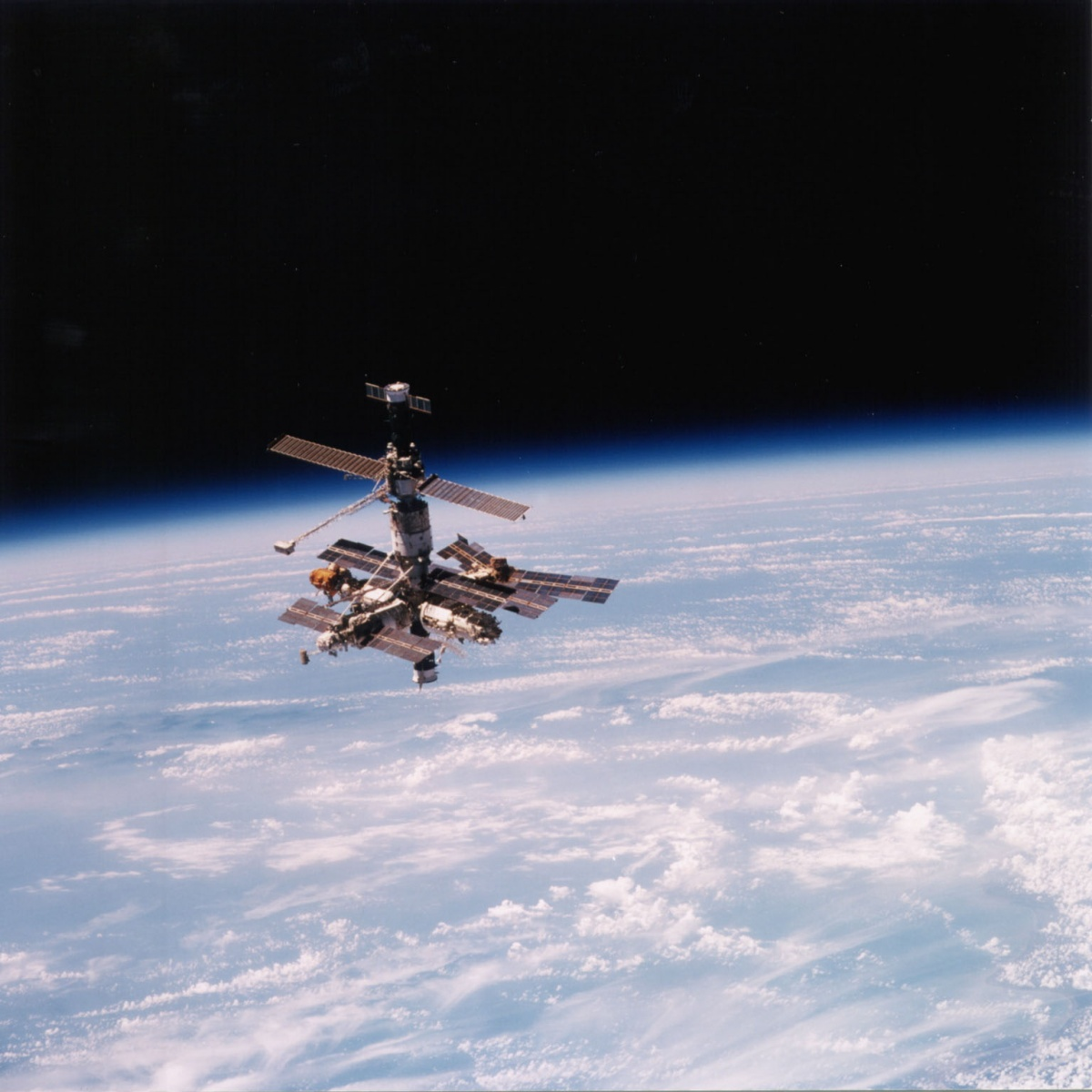 mir space station tracker - photo #40