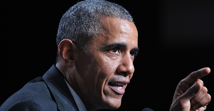 Mr Obama is still reluctant to send large numbers of troops. Photo: Getty