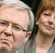 Kevin Rudd and Julia Gillard's rollercoaster ride in office is explored in The Killing Season.