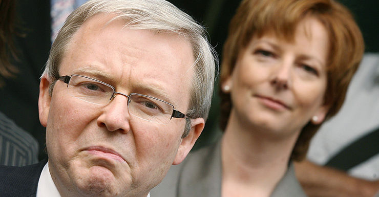 Kevin Rudd and Julia Gillard's rollercoaster ride in office is explored in The Killing Season.