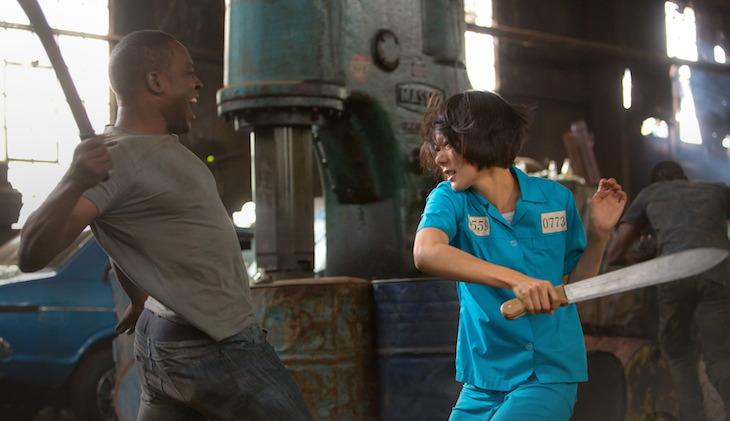 Doona Bae (right) plays a South Korean kickboxer. Photo: Netflix