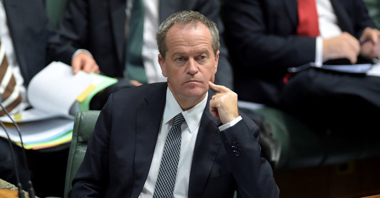 The Opposition Leader's popularity has taken a tumble. Getty