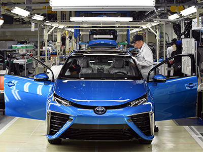 JAPAN-AUTO-TOYOTA-FCV-MIRAI
