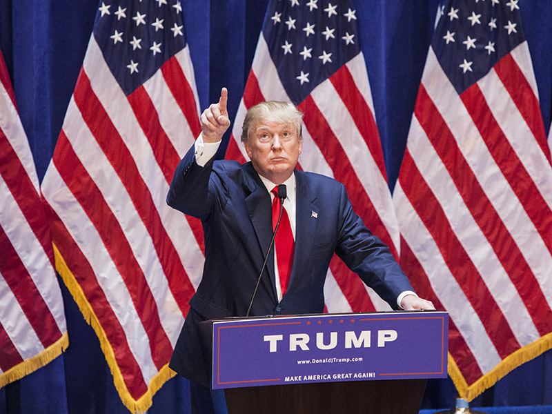 Getty, Donald Trump