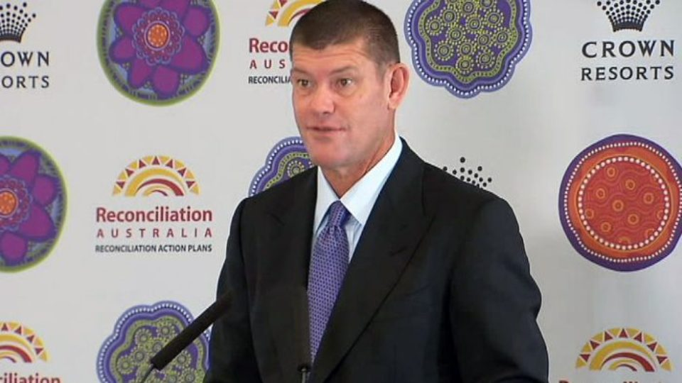 Three top Australian executives of James Packer's Crown Casino arrested in China
