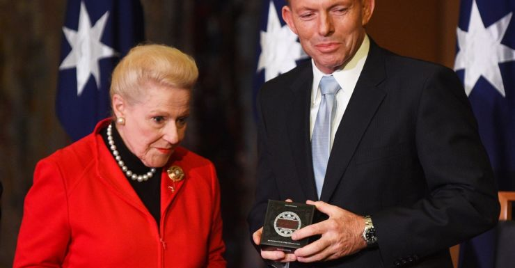 Tony Abbott Bronwyn Bishop. Tony Abbott says he won't be asking the speaker to stand down. Photo: AAP
