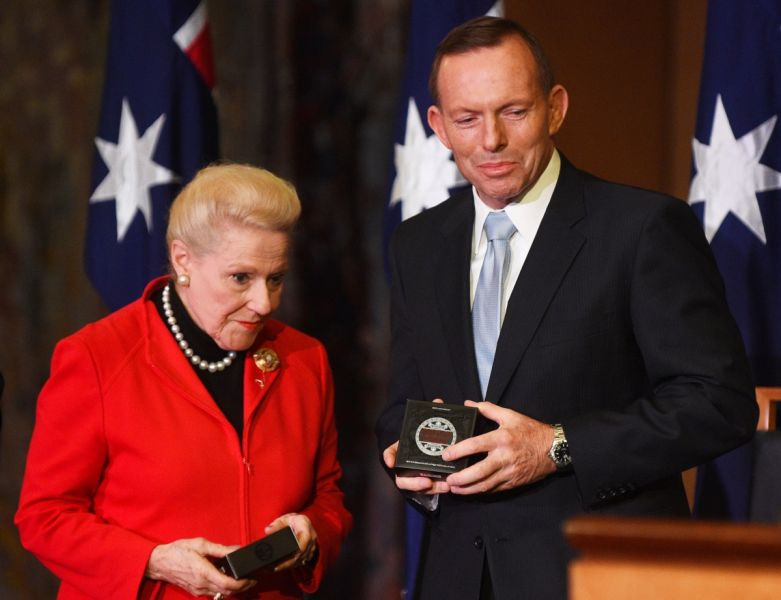 Tony Abbott Bronwyn Bishop