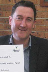 Hockey Australia CEO Cam Vale. Photo: Hockey Australia