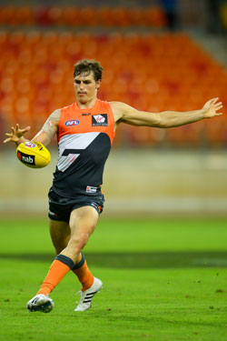 Big crowds aren't common at GWS home games. Photo: Getty
