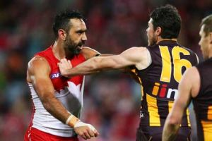 Opposition players need to show their support for Goodes. Photo: Getty