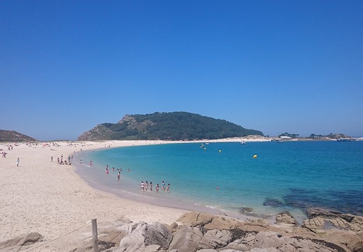 Ilas Cíes regularly appears in lists of the world's best beaches.