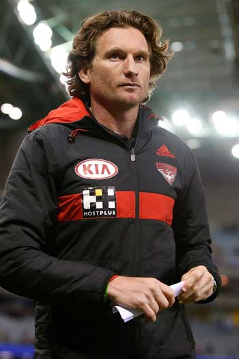 James Hird: evaluating hacking technology?Photo: Getty